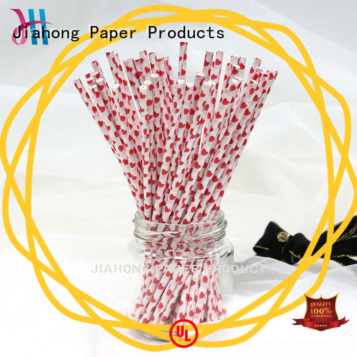 Jiahong wavy cake pop sticks for lollipop