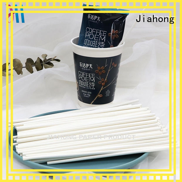 Jiahong coffee coffee stirring stick bulk production for restaurant