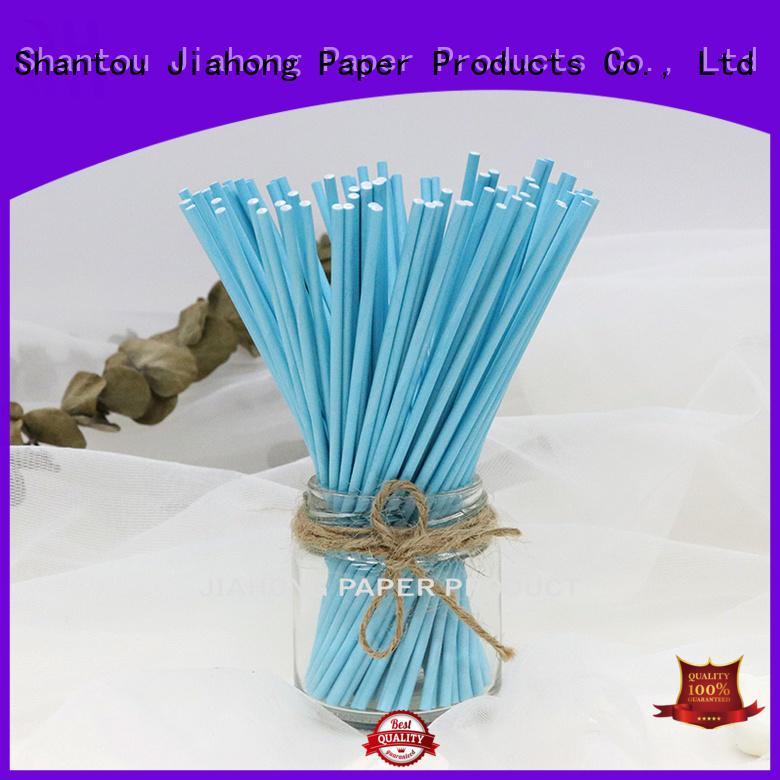 paper wholesale lollipop sticks stick for lollipop Jiahong