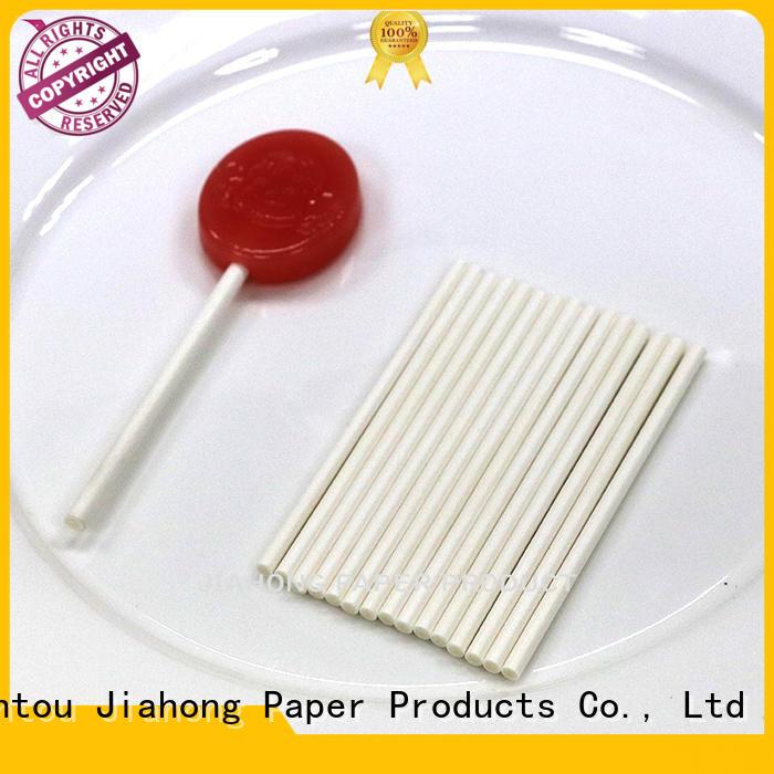 Jiahong professional 4 inch lollipop sticks environmental for lollipop