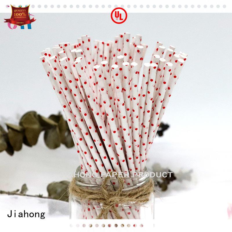 Jiahong fda paper lolly sticks for lollipop