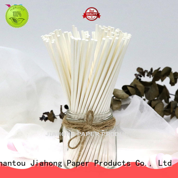 Jiahong logo chocolate lollipop sticks for wholesale for lollipop