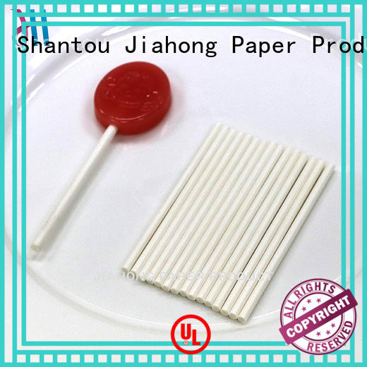 Jiahong clean coloured lollipop sticks factory price for lollipop