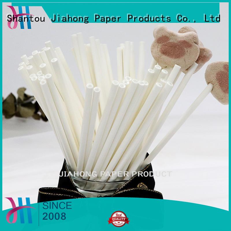 Jiahong candy lollipop sticks bulk in different colors for lollipop
