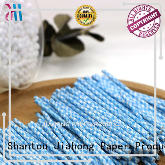 safe cotton swab paper stick paper owner for medical cotton swabs