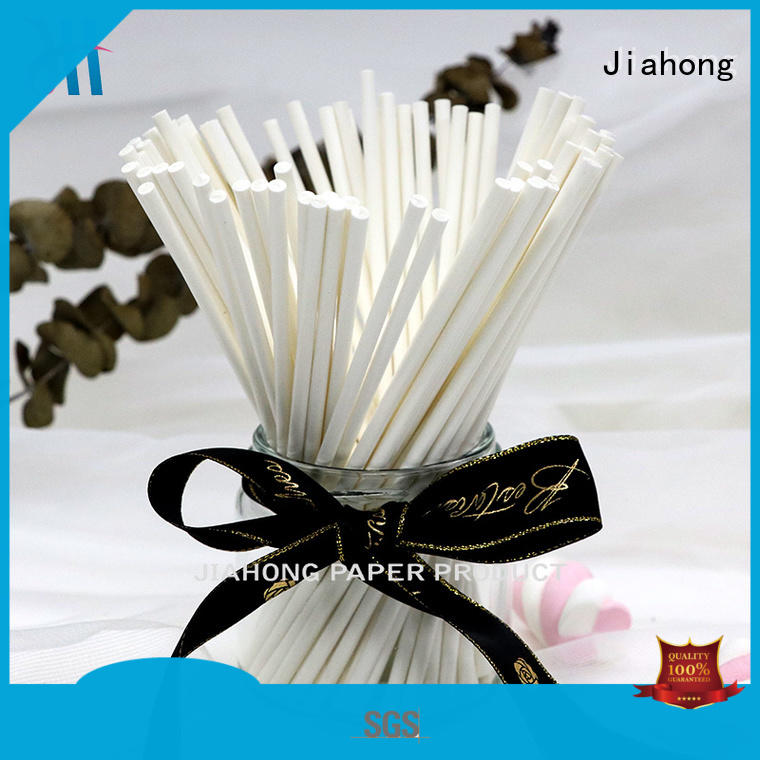 Jiahong durable fsc certified paper sticks certification for marshmallows
