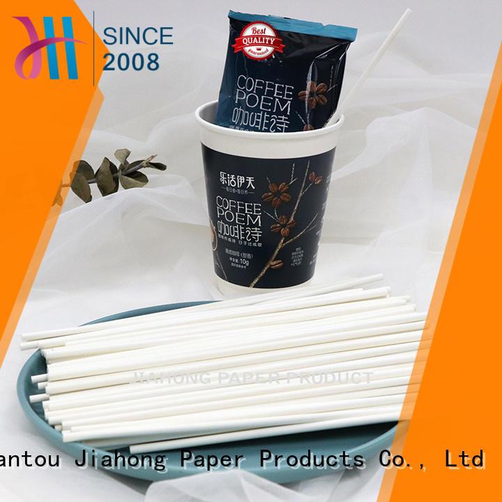 safe paper coffee stirring stick reusable bulk production for cafe