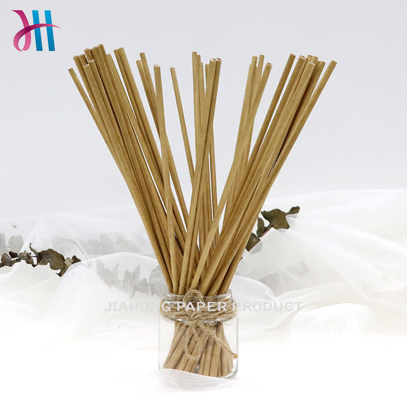 FSC® (C150106) certified paper sticks environmental natural color paper sticks  4.0*250mm