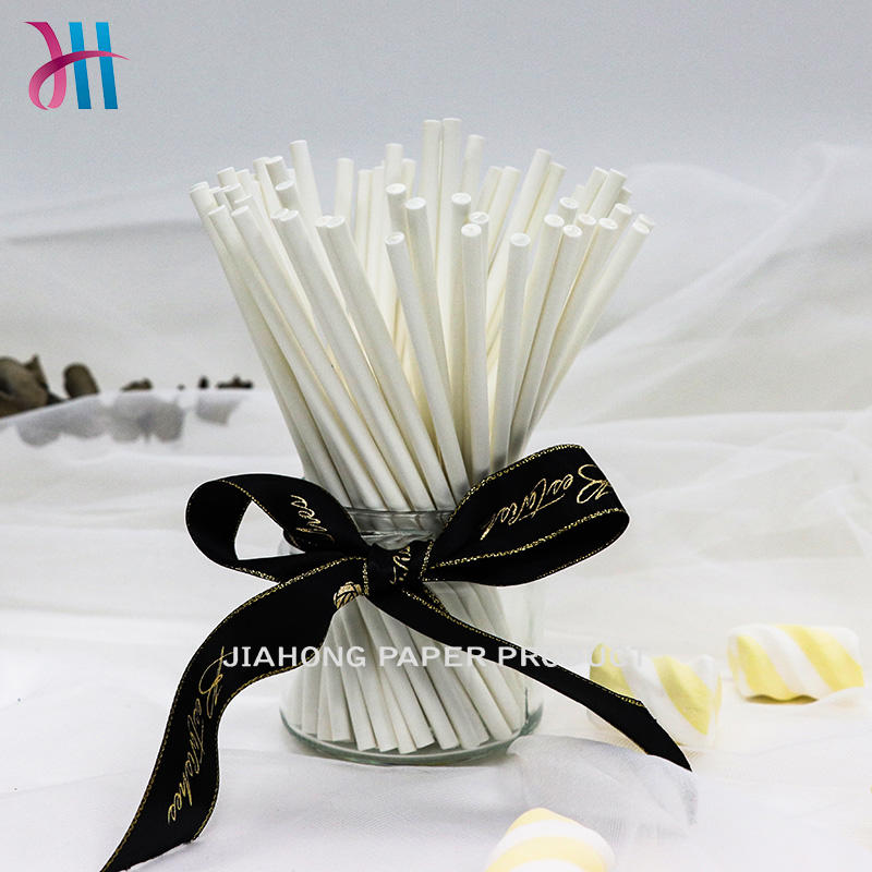 DIY lollipop paper sticks cheap lollipop sticks 4.5*150mm