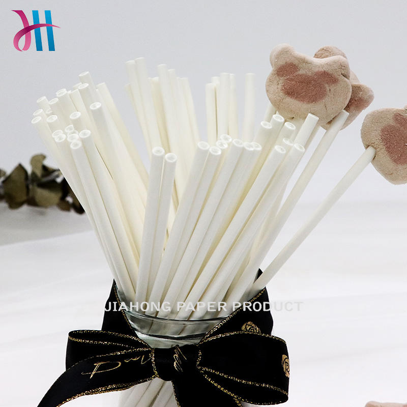 Lollipop paper sticks with food grade paper long lollipop sticks 4.0*100mm