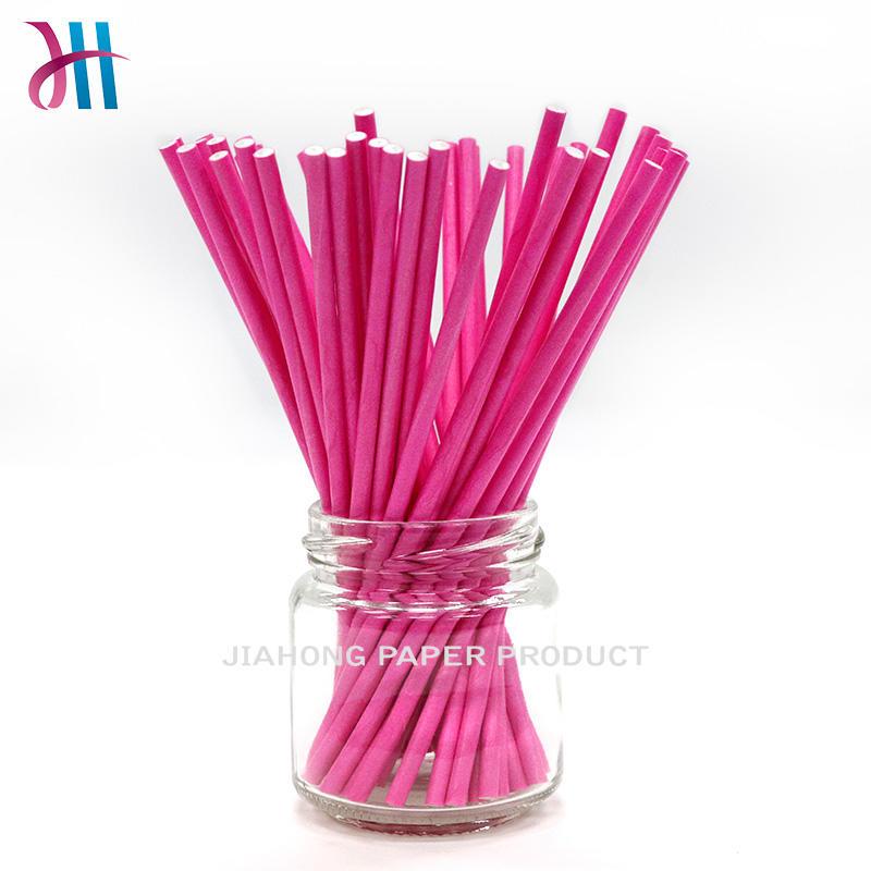 FDA certificated printting paper stick lollipop sticks for sale 4.0*150mm