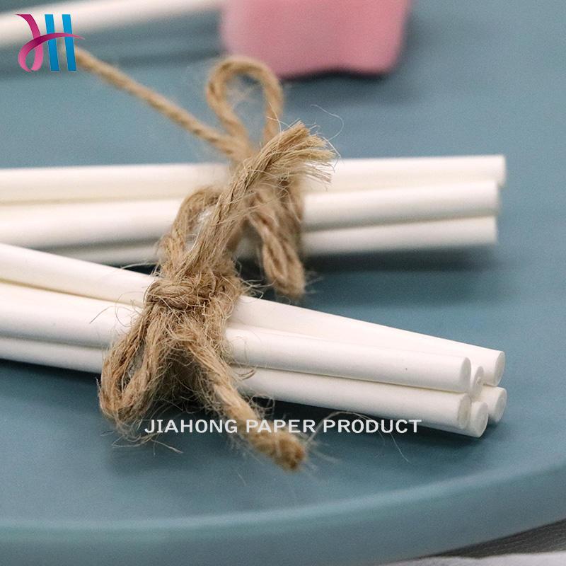 Food grade environmental paper sticks for lollipop cheap lollipop sticks 4.0*70mm