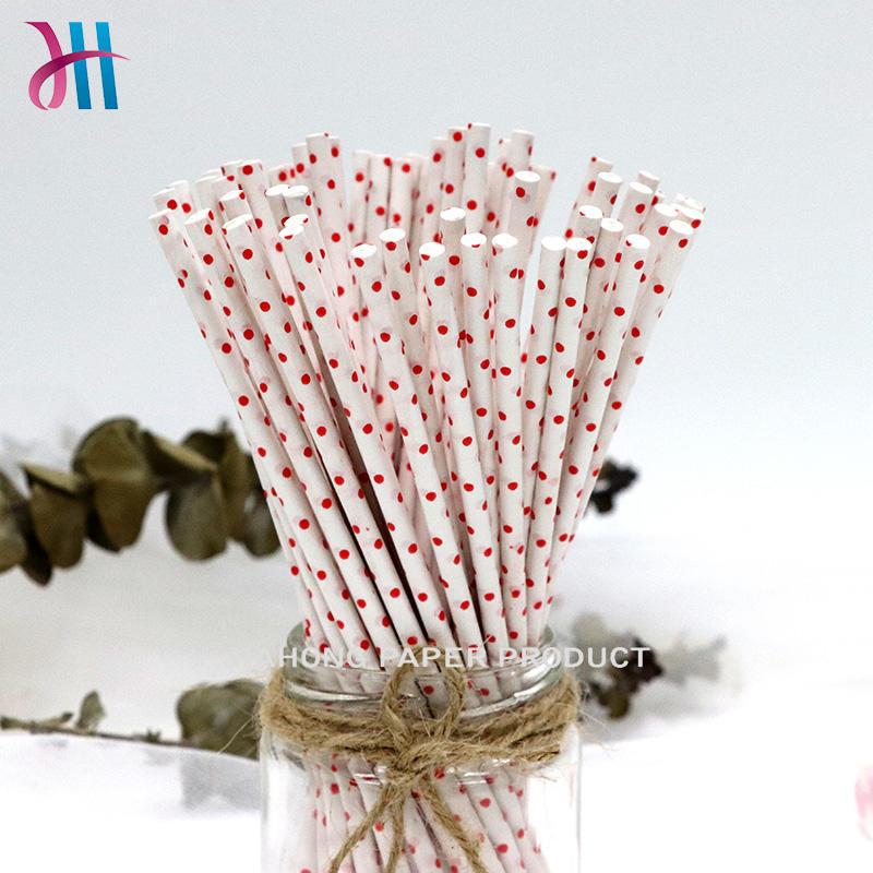 FDA certificated printting paper stick  white lollipop sticks 4.0*150mm