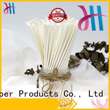 Jiahong logo large lollipop sticks in different colors for lollipop