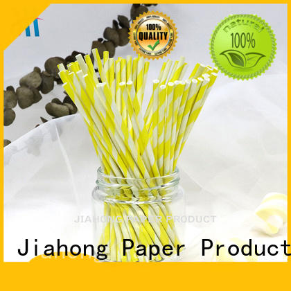 Jiahong widely used lollipop sticks types for lollipop