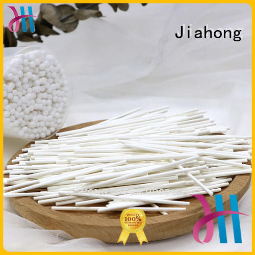 Jiahong swab cotton stick certification for hospital