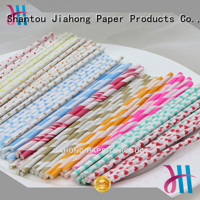 Jiahong paper lollipop sticks for lollipop