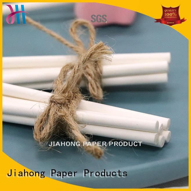 Jiahong eco friendly coloured lollipop sticks in different colors for lollipop