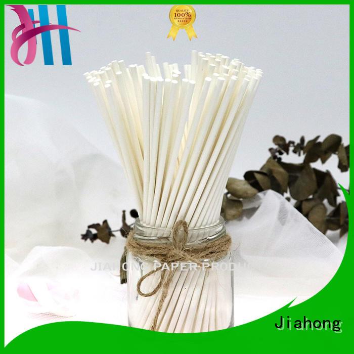 Jiahong stick blue lollipop sticks markting for lollipop