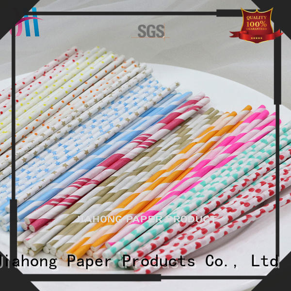 Jiahong widely used blue lollipop sticks in different colors for lollipop