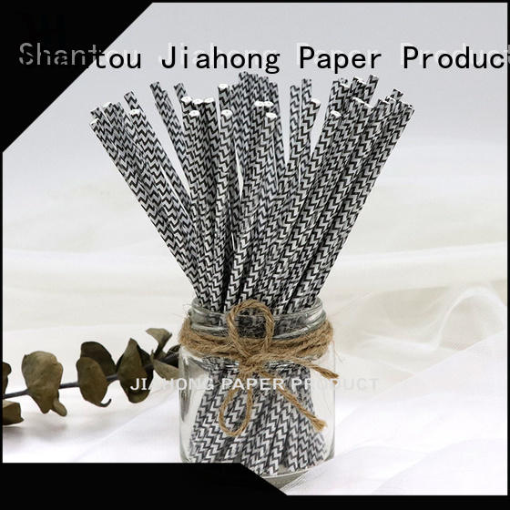 Jiahong paper cake sticks bulk production for lollipop