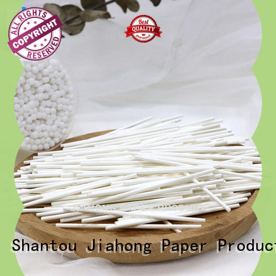 Jiahong superior cotton swab paper stick manufacturer for medical cotton swabs