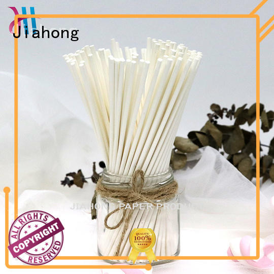 Jiahong certificated custom lollipop sticks in different colors for lollipop