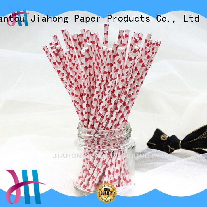 Jiahong paper cake sticks free design for lollipop