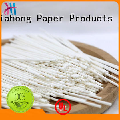 Jiahong quality cotton swab paper stick certification for medical cotton swabs