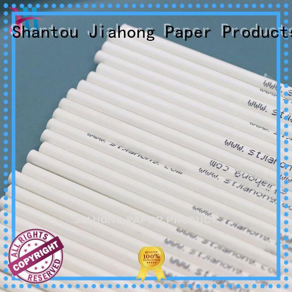 Jiahong bar lollipop paper stick for wholesale for lollipop
