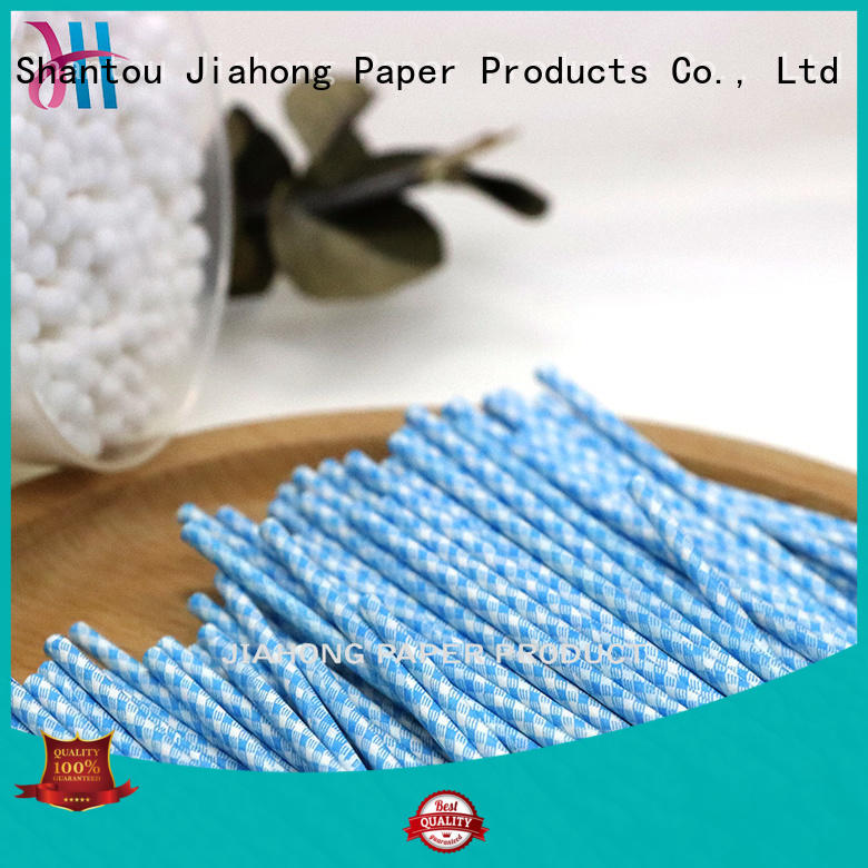 Jiahong environmental cotton bud sticks owner for medical cotton swabs