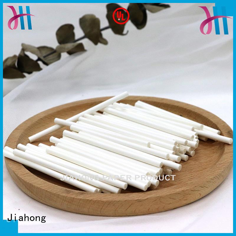 handcraft paper sticks certified for lollipops Jiahong