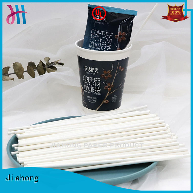 Jiahong professional coffee stir sticks factory price for cafe