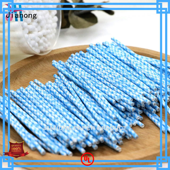 Jiahong cotton cotton swab paper stick manufacturer for medical