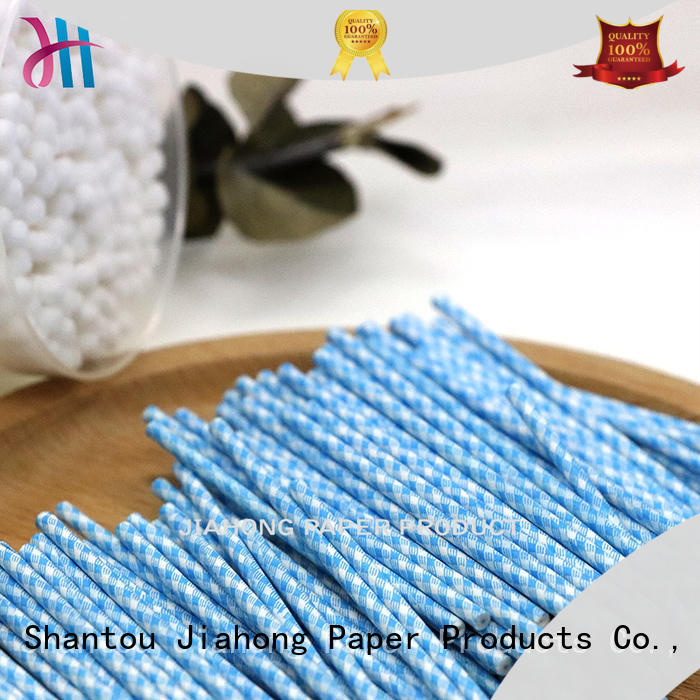 Jiahong smooth cotton swab paper stick supplier for medical cotton swabs