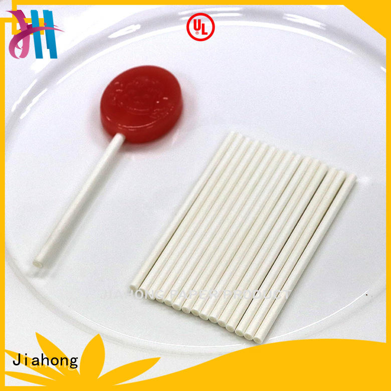 fashion design lollipop sticks striped factory price for lollipop