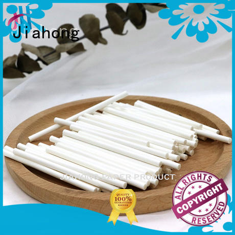 Jiahong 40250mm hand fan sticks factory price for cotton swabs