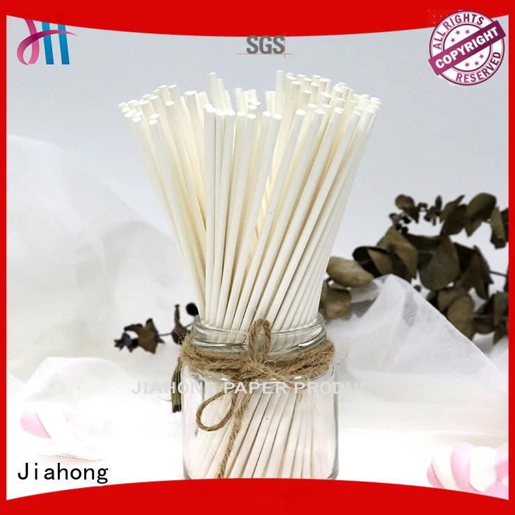 Jiahong eco friendly lollipop paper stick for lollipop