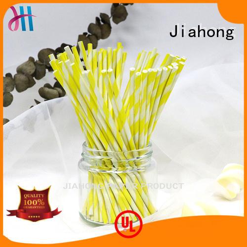 Jiahong customized colored lollipop sticks shop now for lollipop