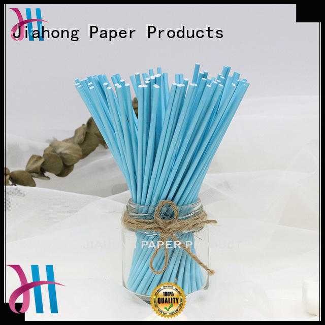Jiahong new-arrival paper lolly sticks for lollipop
