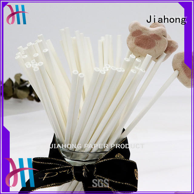 lolly black and white lollipop sticks factory price for lollipop Jiahong