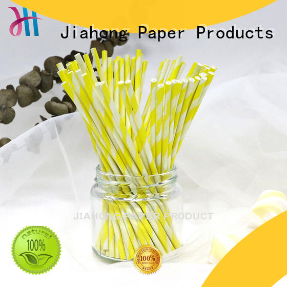 Jiahong widely used paper lolly sticks markting for lollipop