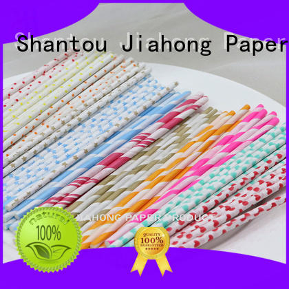 Jiahong widely used lollipop paper stick lollipop for lollipop