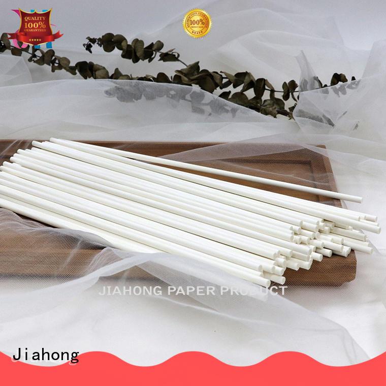 Jiahong paper white balloon sticks wholesale for ballon