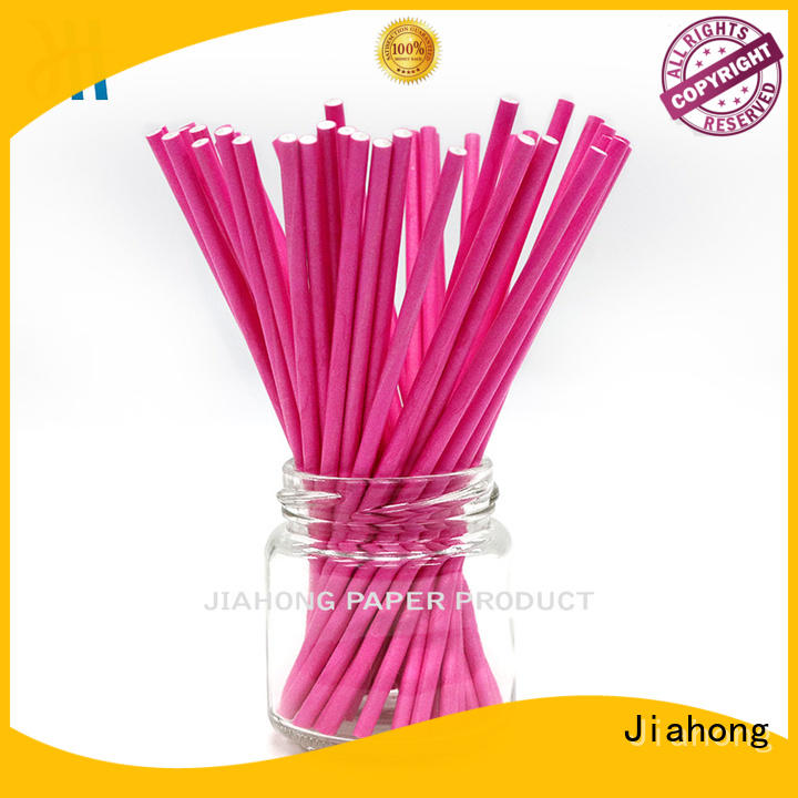 Jiahong eco friendly cheap lollipop sticks vendor for lollipop