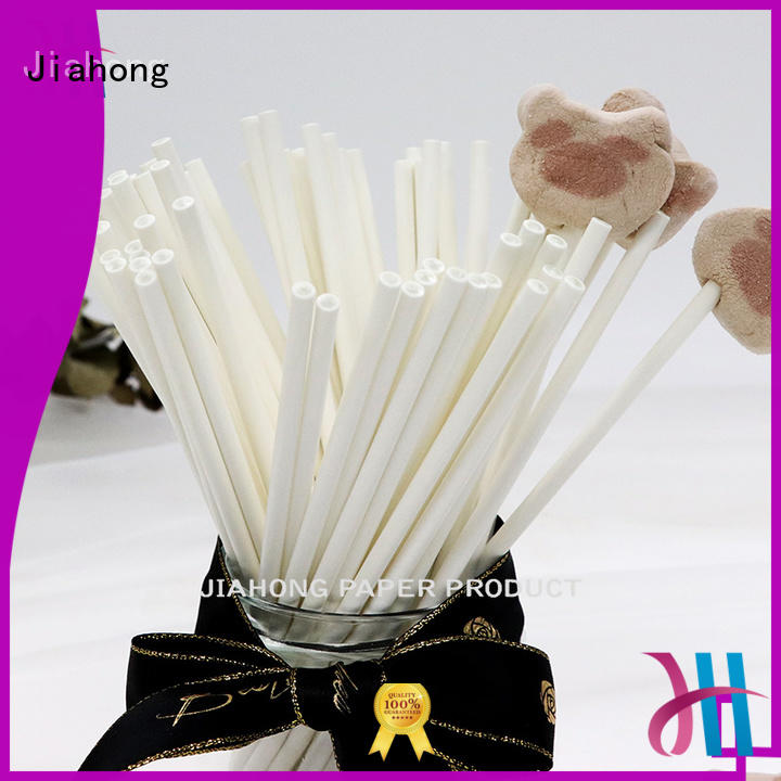 Jiahong environmental colored lollipop sticks in different colors for lollipop