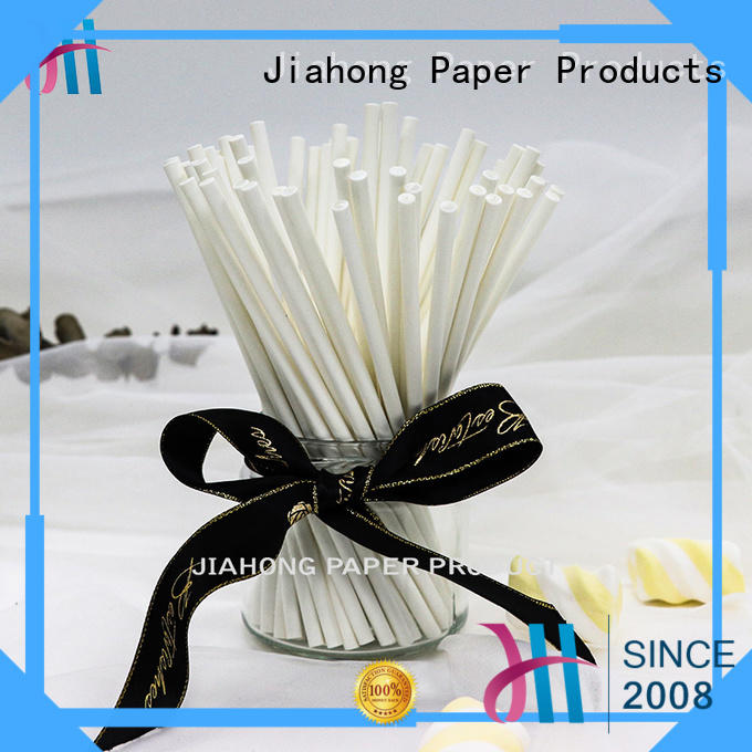 Jiahong professional paper lolly sticks shop now for lollipop