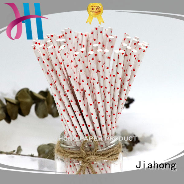 Jiahong eco friendly long lollipop sticks overseas market for lollipop