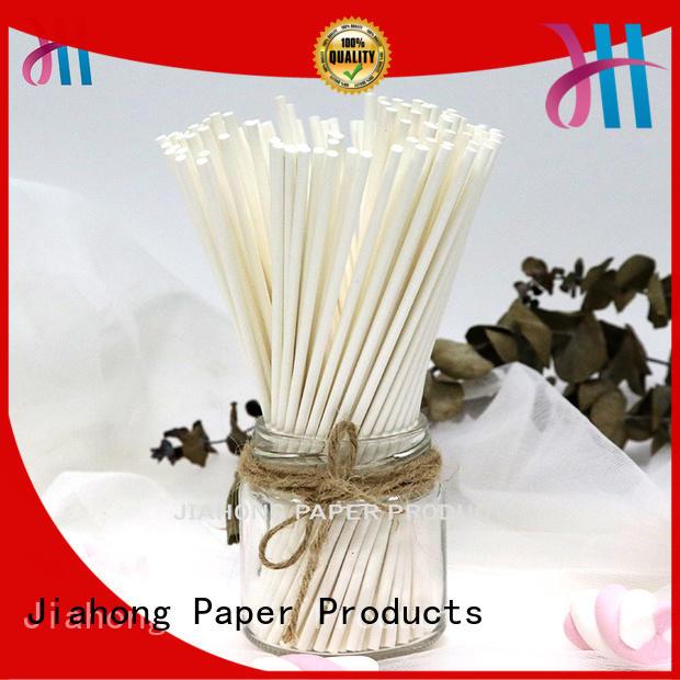 lollipop sticks bulk Food grade environmental candy paper sticks 3.0*85mm