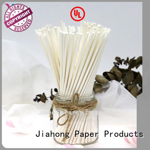 Jiahong lollipop paper lolly sticks for lollipop